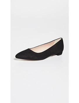 jacqueline-point-toe-flats by lk-bennett