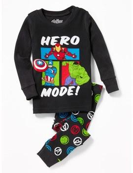 """Marvel™ Avengers """"Hero Mode!"""" Sleep Set For Toddler & Baby by Old Navy"""