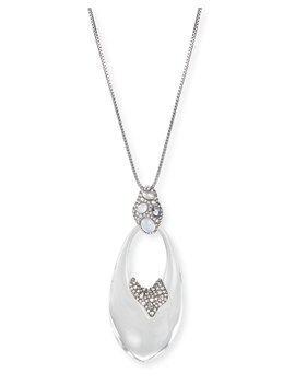 Stone Cluster Link Pendant Necklace by Alexis Bittar