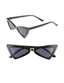 Futuristic 55mm Cat Eye Sunglasses by Leith