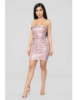 Look Into My Eyes Dress   Pink by Fashion Nova