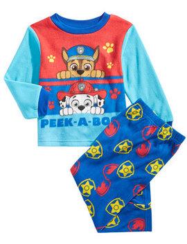 Toddler Boys 2 Pc. Fleece Pajama Set by Paw Patrol