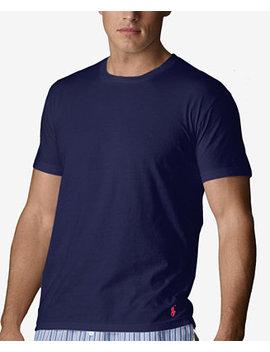 Men's Crew Neck T Shirt by Polo Ralph Lauren