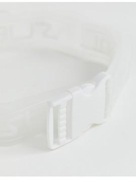 Asos Design – Brett Plastskärm Med Lång ände Och Grafiskt Mönster by Asos