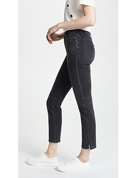 The Isabelle Jeans With Slit by Ag