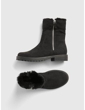 Cozy Zip Booties by Gap