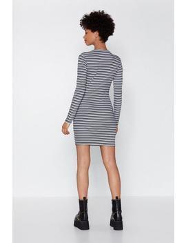 Stripe Bodycon Mini Dress by Nasty Gal