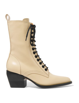 Rylee Ankle Boots Aus Glanzleder by Chloé