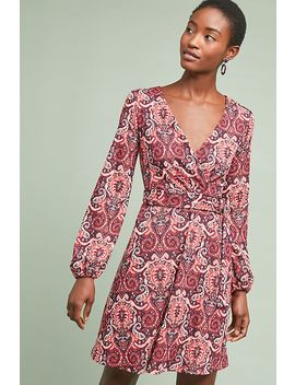 Paisley Belted Dress by Maeve