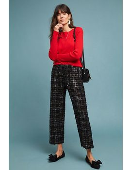 Fritz Metallic Plaid Pants by Eva Franco