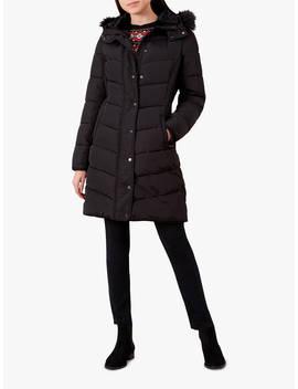 Hobbs Lilian Padded Coat, Black by Hobbs