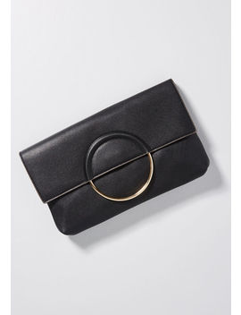 Foldover And Done Clutch by Modcloth