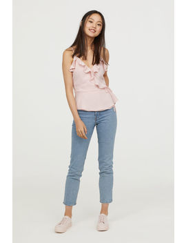 Wickeltop Mit Volants by H&M