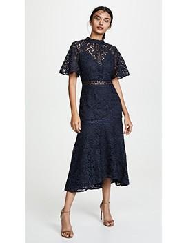 Utopia Lace Midi Dress by Keepsake