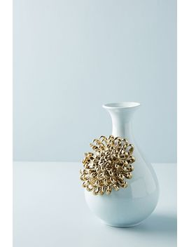 Ceramic Bloom Vase by Anthropologie