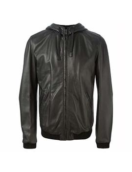 Chase Squad Hoodie Faux Leather Jacket Men – Men's Bomber Look Faux Leather Jacket With Hoodie by Chase Squad