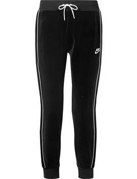 Stretch Velour Track Pants by Nike