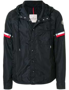 Windbreaker Mit Gestreiften Patches by Moncler
