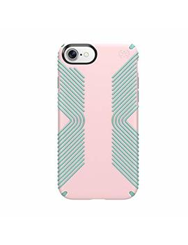 Speck Products 88738 6371 Presidio Grip Cell Phone Case For I Phone 7   Quartz Pink/Aloe Green by Speck