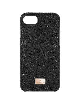 Custodia Smartphone Con Bordi Protettivi High, I Phone® 8, Nero by Swarovski