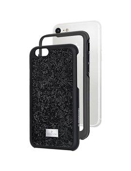 Custodia Smartphone Con Bordi Protettivi Glam Rock, I Phone® 7, Nero by Swarovski