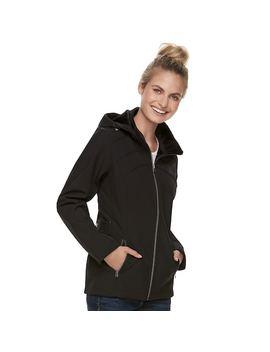 Women's Zero Xposur Britney Soft Shell Hooded Jacket by Kohl's