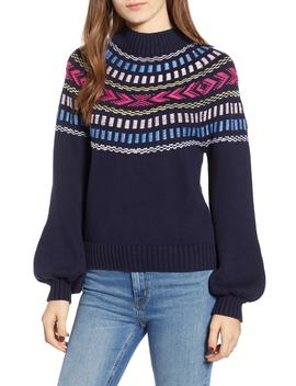 Raja Mock Neck Sweater by Rebecca Minkoff