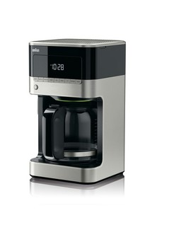 Braun Coffee Maker Stainless Steel & Black by Braun