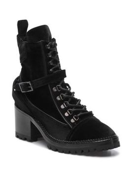 Women's Steffy Velvet Boots by The Kooples