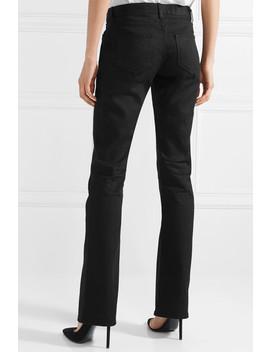 Mid Rise Bootcut Jeans by Saint Laurent