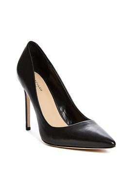 Pointed Faux Leather Pumps by Guess