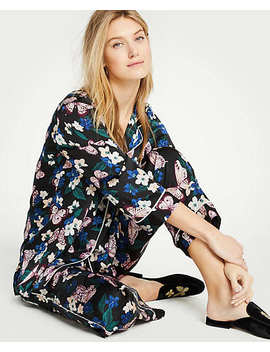 Printed Pajama Set by Ann Taylor