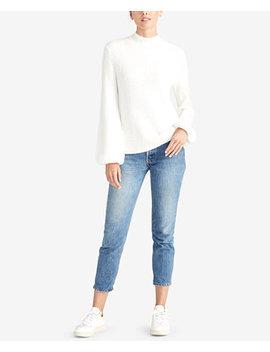 Ribbed Turtleneck Sweater, Created For Macy's by Rachel Rachel Roy