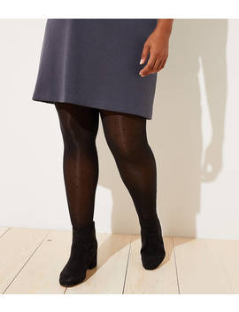 Loft Plus Dot Tights by Loft