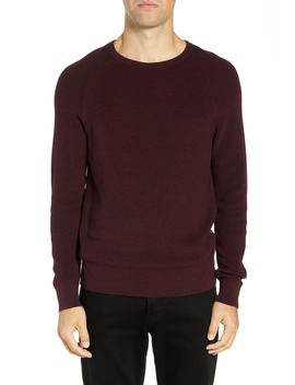 Ribbed Crewneck Sweater by French Connection