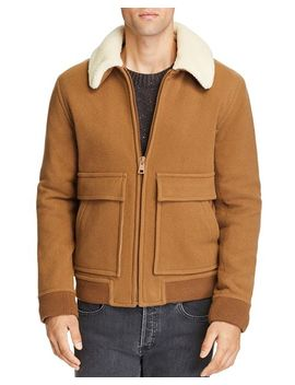 Faux Shearling Jacket by A.P.C.