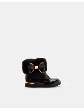 Faux Fur Cuff Boots by Ted Baker