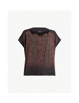 Kaa Pina Cotton Jersey T Shirt by Allsaints