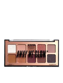 Nyx Professional Makeup   'away We Glow' Eyeshadow Palette 10g by Nyx Professional Makeup