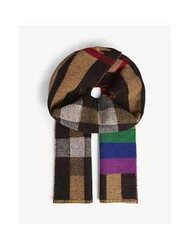 Rainbow Check Scarf by Burberry