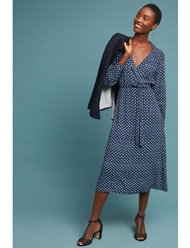Shibori Midi Dress by Seen Worn Kept