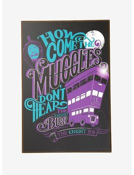 Harry Potter Knight Bus Wall Art by Hot Topic