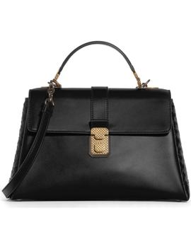 Medium Piazza Top Handle Bag by Bottega Veneta