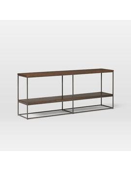 "Streamline Bookshelf (60"")   Dark Walnut by West Elm"