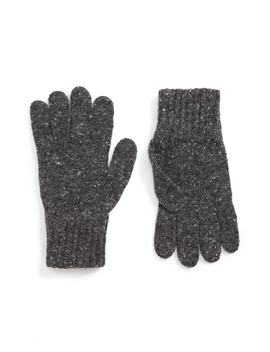 Donegal Wool Gloves by Drake's