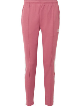 Sst Striped Jersey Track Pants by Adidas Originals