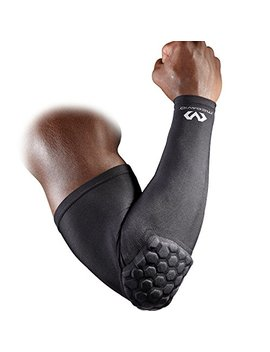 mcdavid-6500-hex-padded-arm-sleeve,-compression-arm-sleeve-w_-elbow-pad-for-football,-volleyball,-baseball-protection,-youth-&-adult-sizes,-sold-as-single-unit-(1-sleeve) by mcdavid