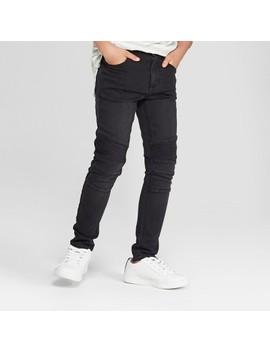 Boys' Moto Woven Jeans   Art Class™ Black by Art Class