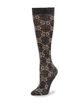 Gg Print Socks by Gucci