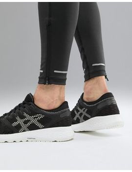 Asics Running Roadhawk 2 Trainers In Black by Asics